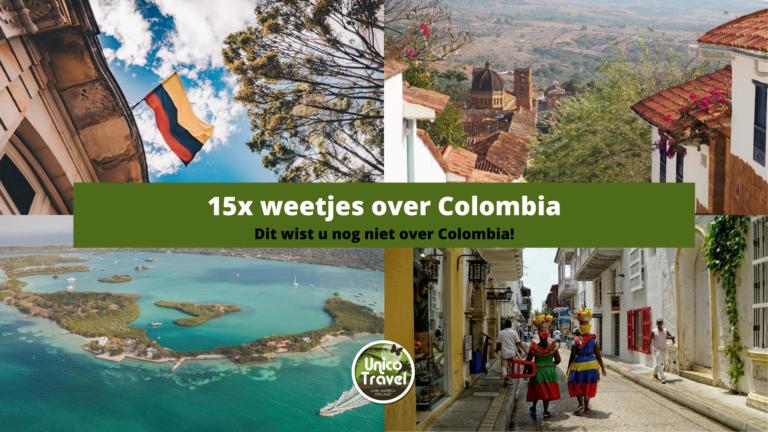 15 weetjes colombia