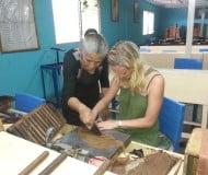 Bezoek de tabaksfabriek in Esteli Nicaragua.