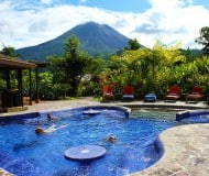 Luxe hotel Arenal Costa Rica