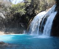 Waterval El Chiflon Mexico.