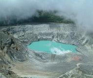 Vulkaan Poas, Costa Rica