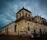 Koloniaal dorp León in Nicaragua.