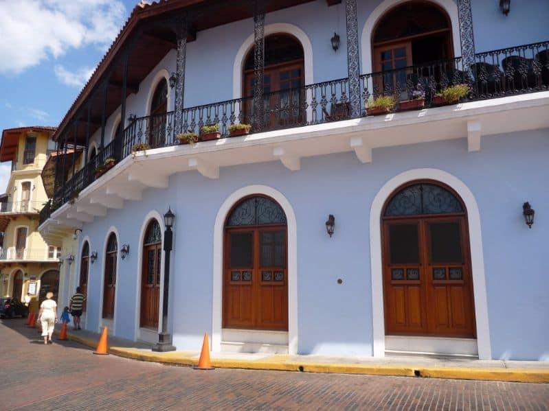 Panama-Stad oude wijk Casco Viejo
