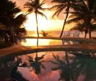 Overnachten Ambergris Caye Belize.