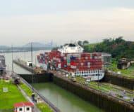 Panamakanaal in Panama-Stad, Panama