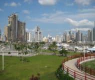 Skyline Panama-Stad, Panama