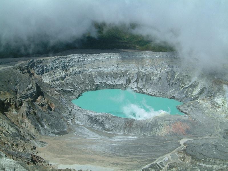 Vulkaankrater rondreis Costa Rica