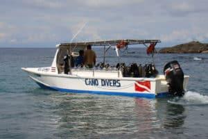 boot naar cano island
