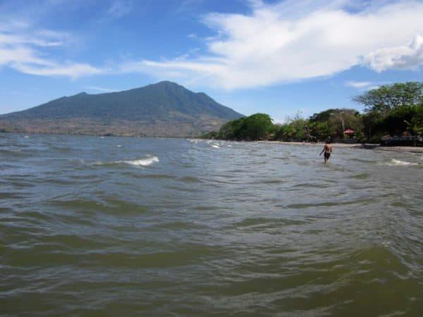 Isla de Ometepe, vulkaan en meer