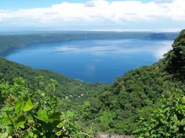 Lake Apoya meer