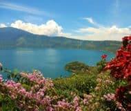 Lago de Coatepeque luxe reis El Salvador