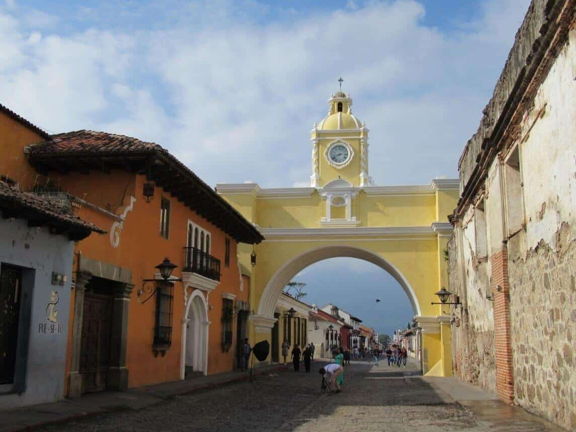 reisverslag guatemala arco de santa catalina