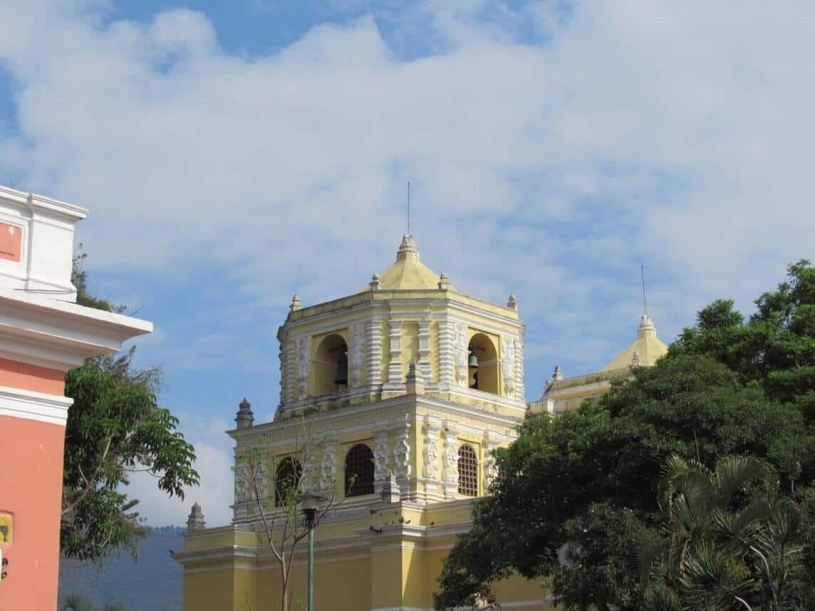 reisverslag guatemala antigua kerkje
