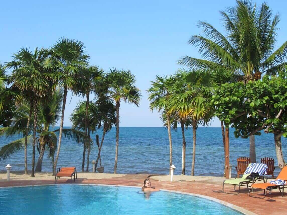 reisverslag belize zwembad