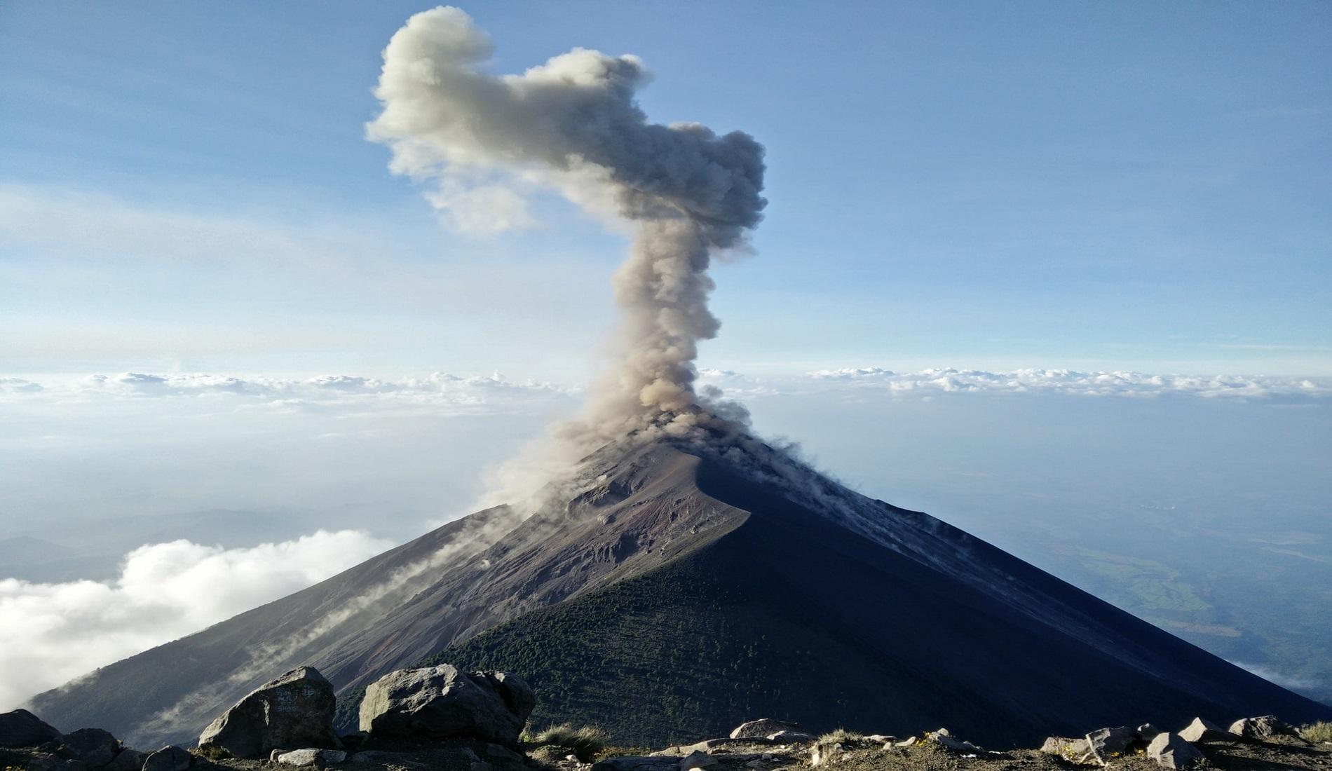 Acatenango vulkaan rondreis guatemala