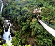 Baños waterval Ecuador