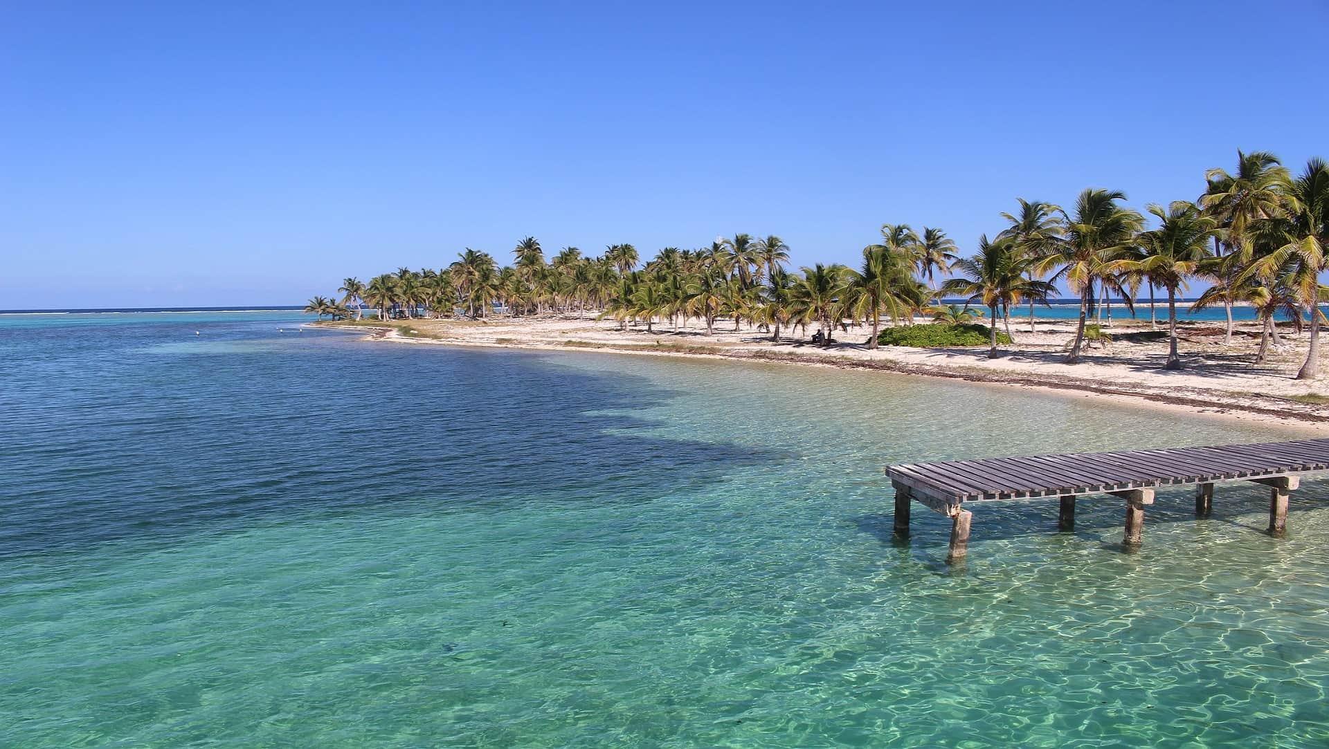 Belize reizen eiland