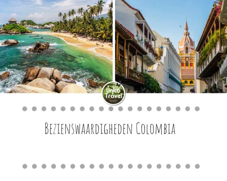 Bezienswaardigheden Colombia