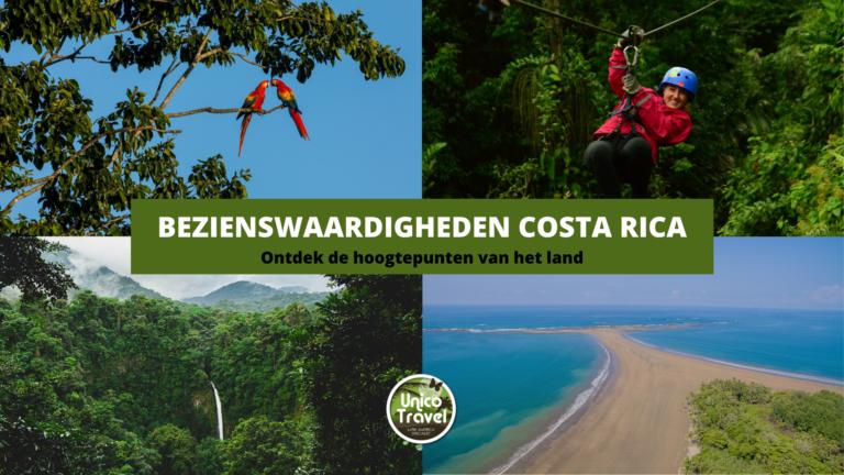 Bezienswaardigheden Costa Rica