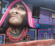 Bogotá Graffiti Muurschildering