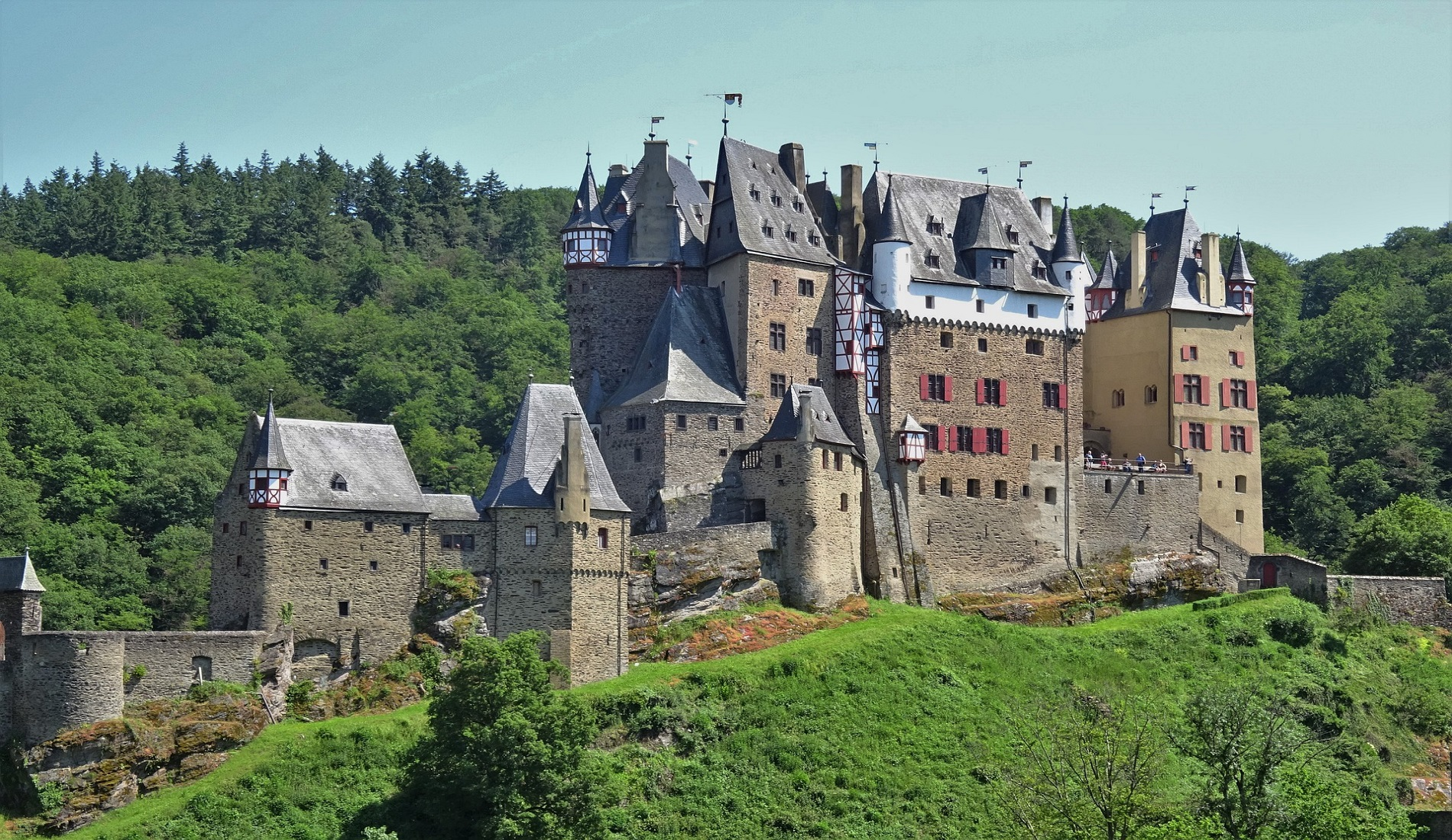 Burg Eltz duitsland reizen