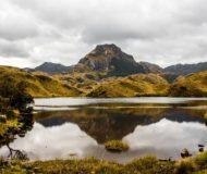 Cajas nationaal park Ecuador