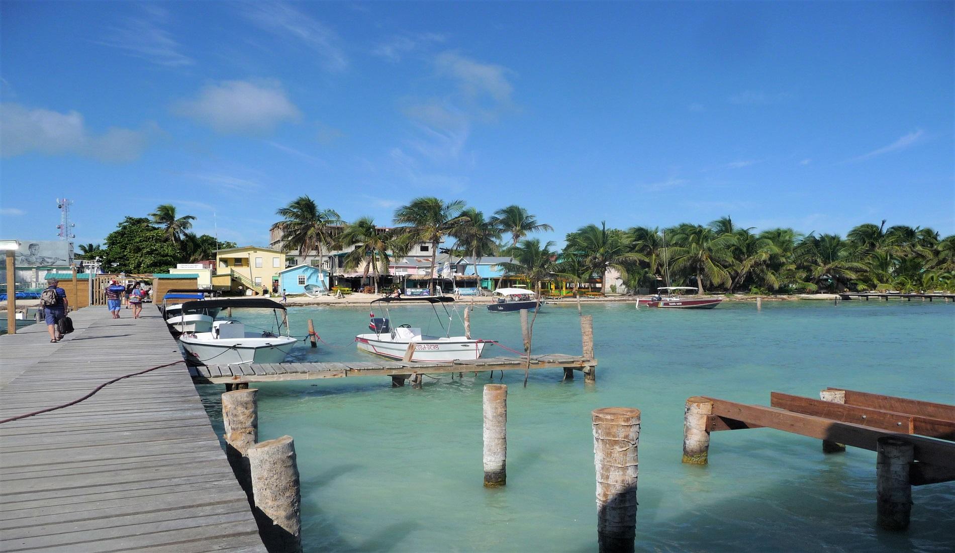 Caye Caulker eiland belize