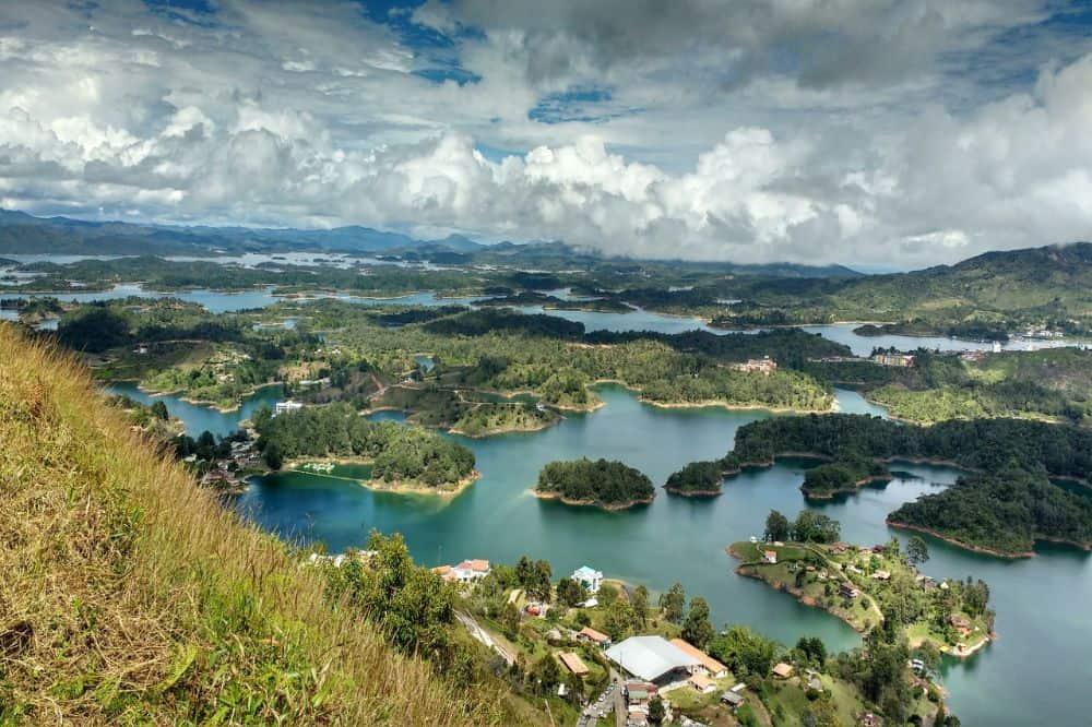 Colombia reis Guatape