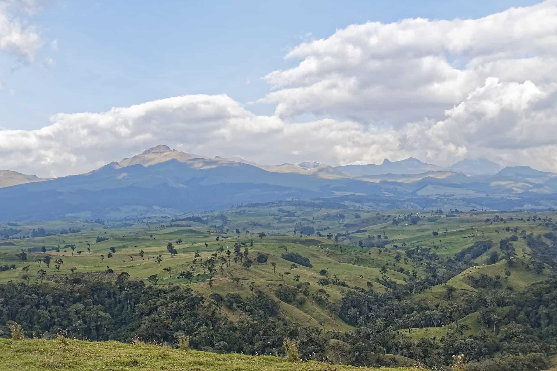 Colombia reis Landschap
