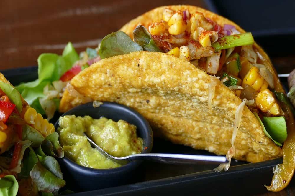 Taco Mexico eten culinair