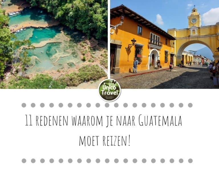 11 Redenen waarom je naar Guatemale moet reizen