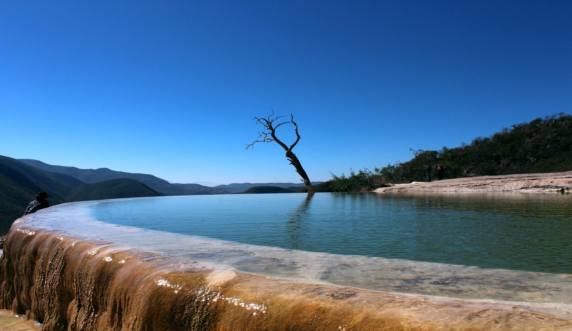Hierve el Agua rondreis oaxaca