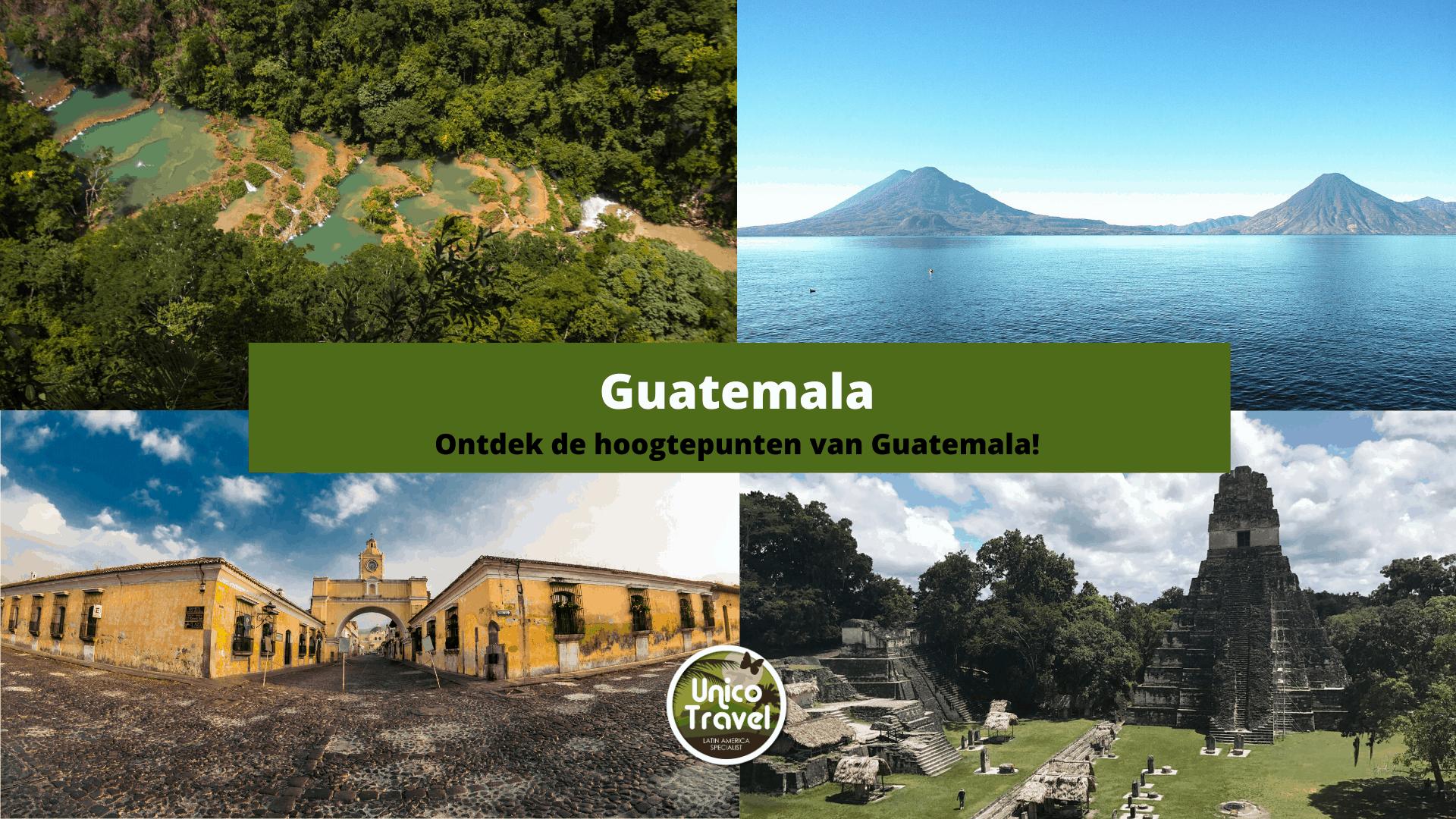 Hoogtepunten Guatemala 1