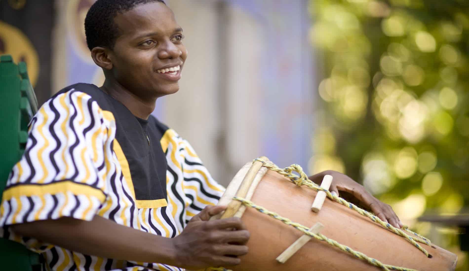 Hopkins Lebeha Drummers (foto BTB)