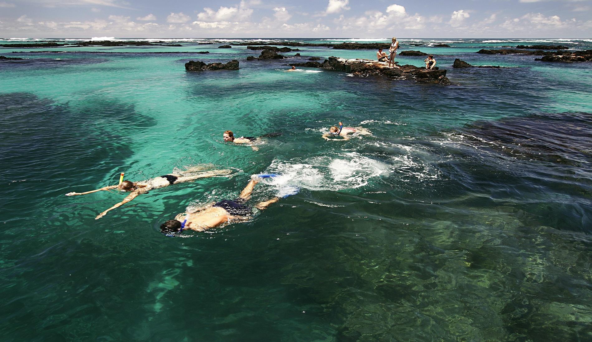 Isabela Tunnels snorkeling rondreis galapagos