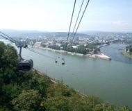 Kabelbaan bij Koblenz