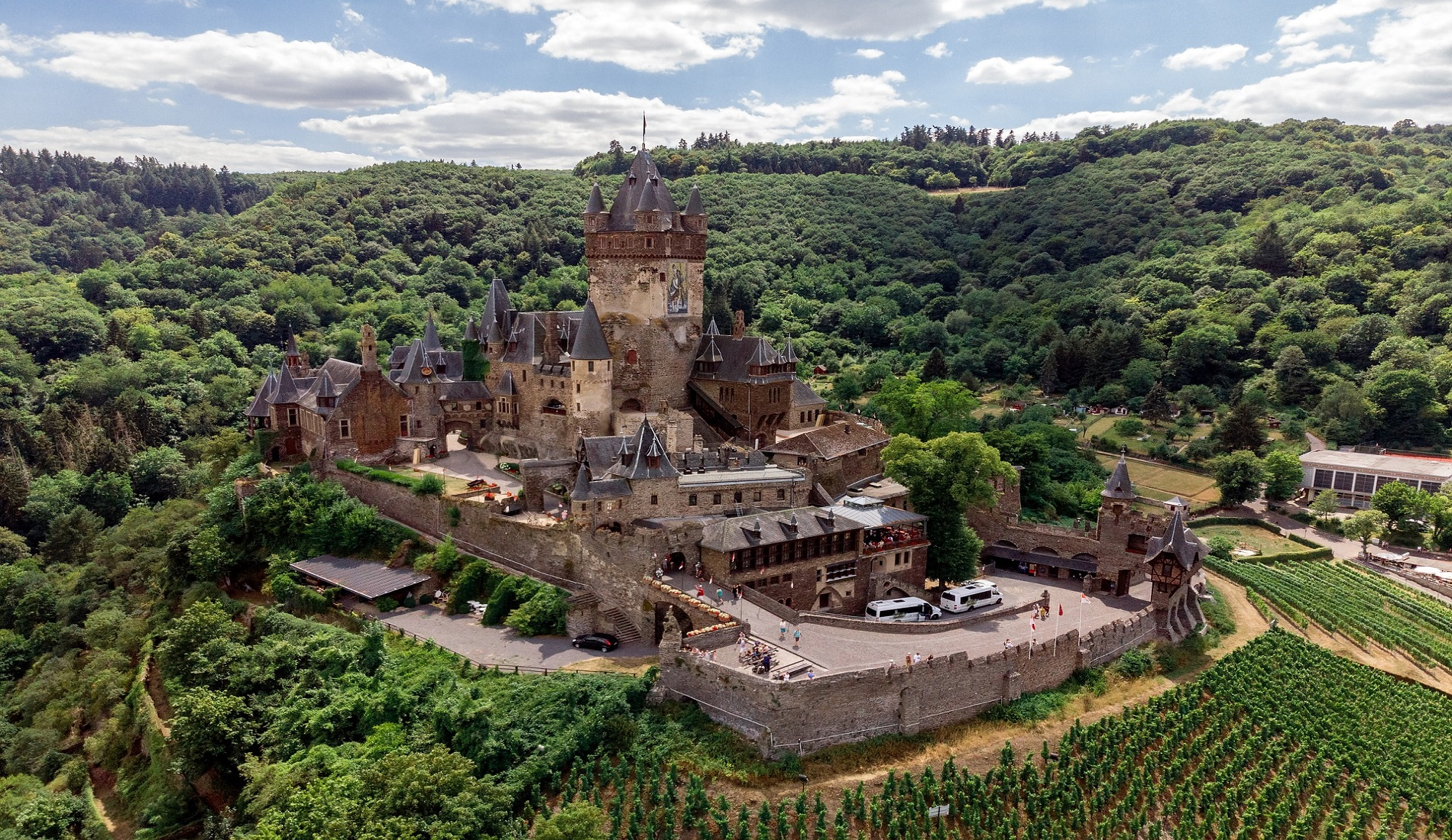 Kasteel Cochem duitsland reizen