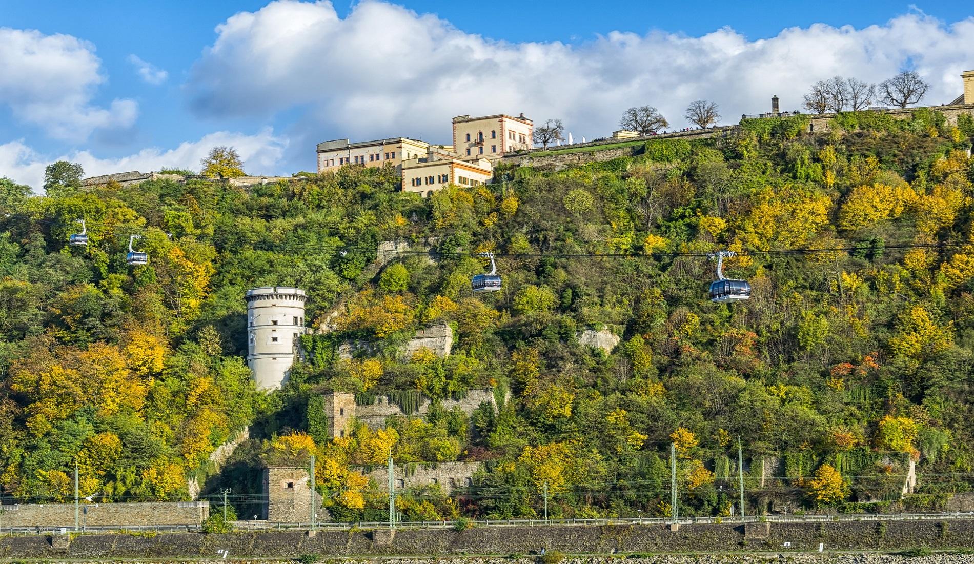 Koblenz kabelbaan