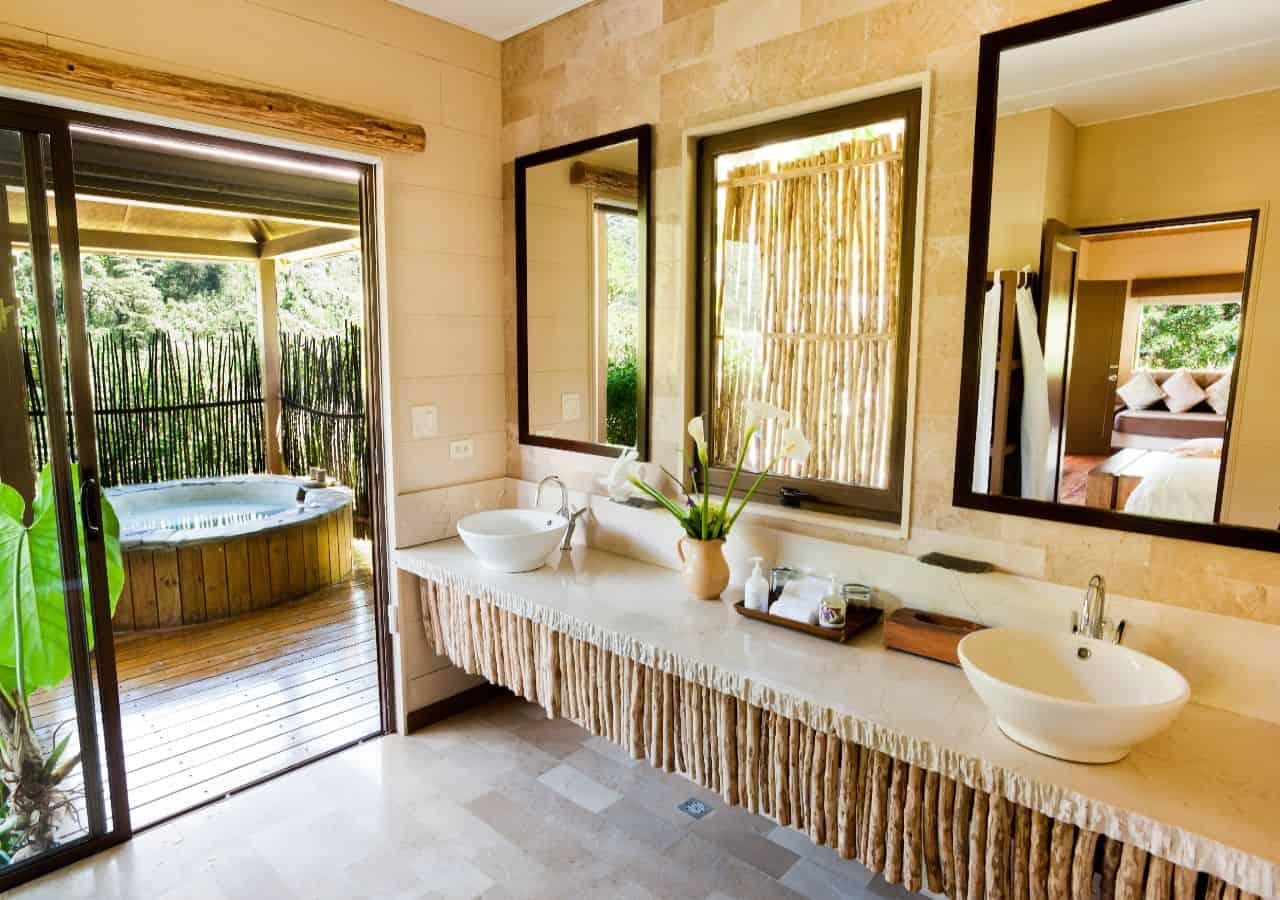 Luxe reis Costa Rica badkamer