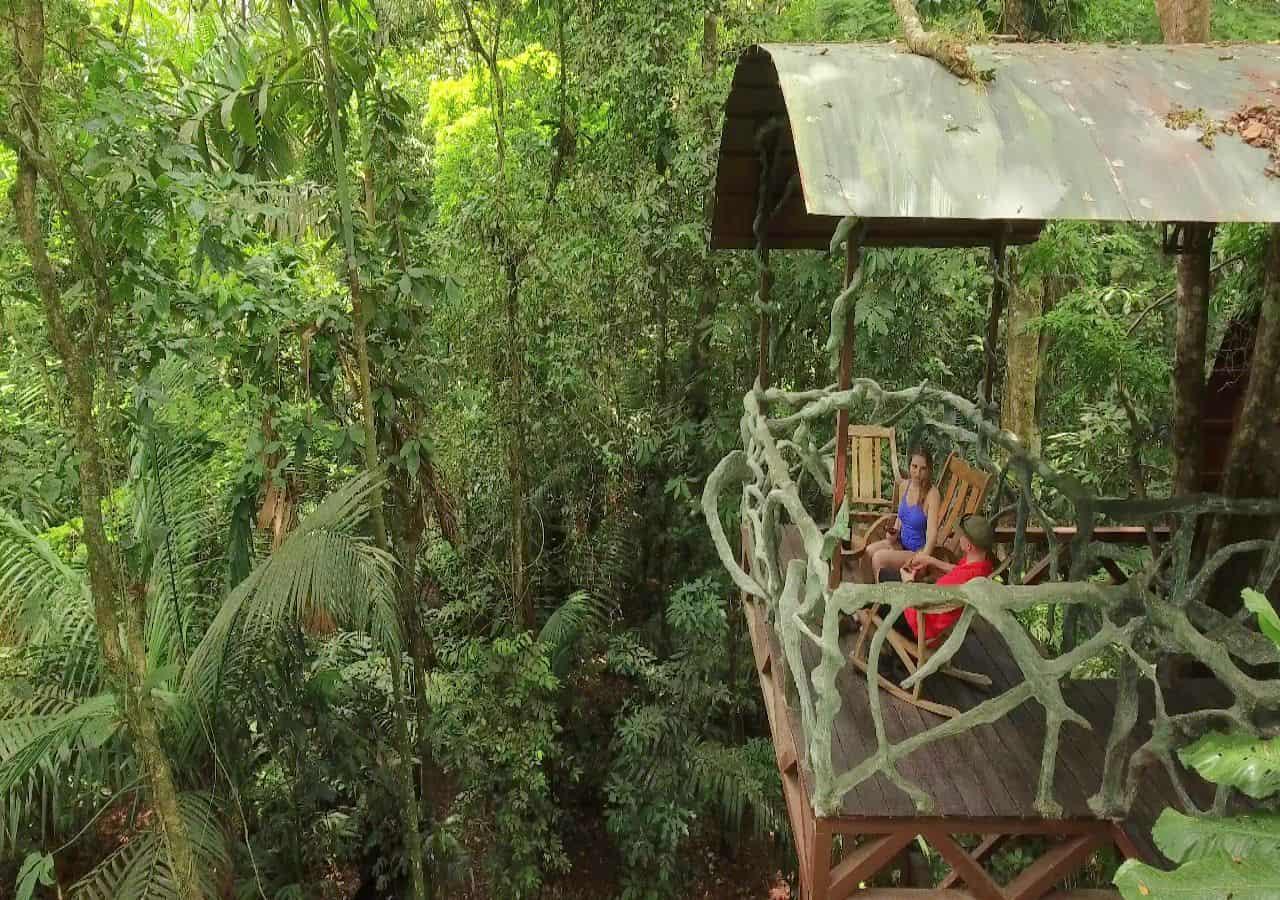 Luxe reis Costa Rica boomhut