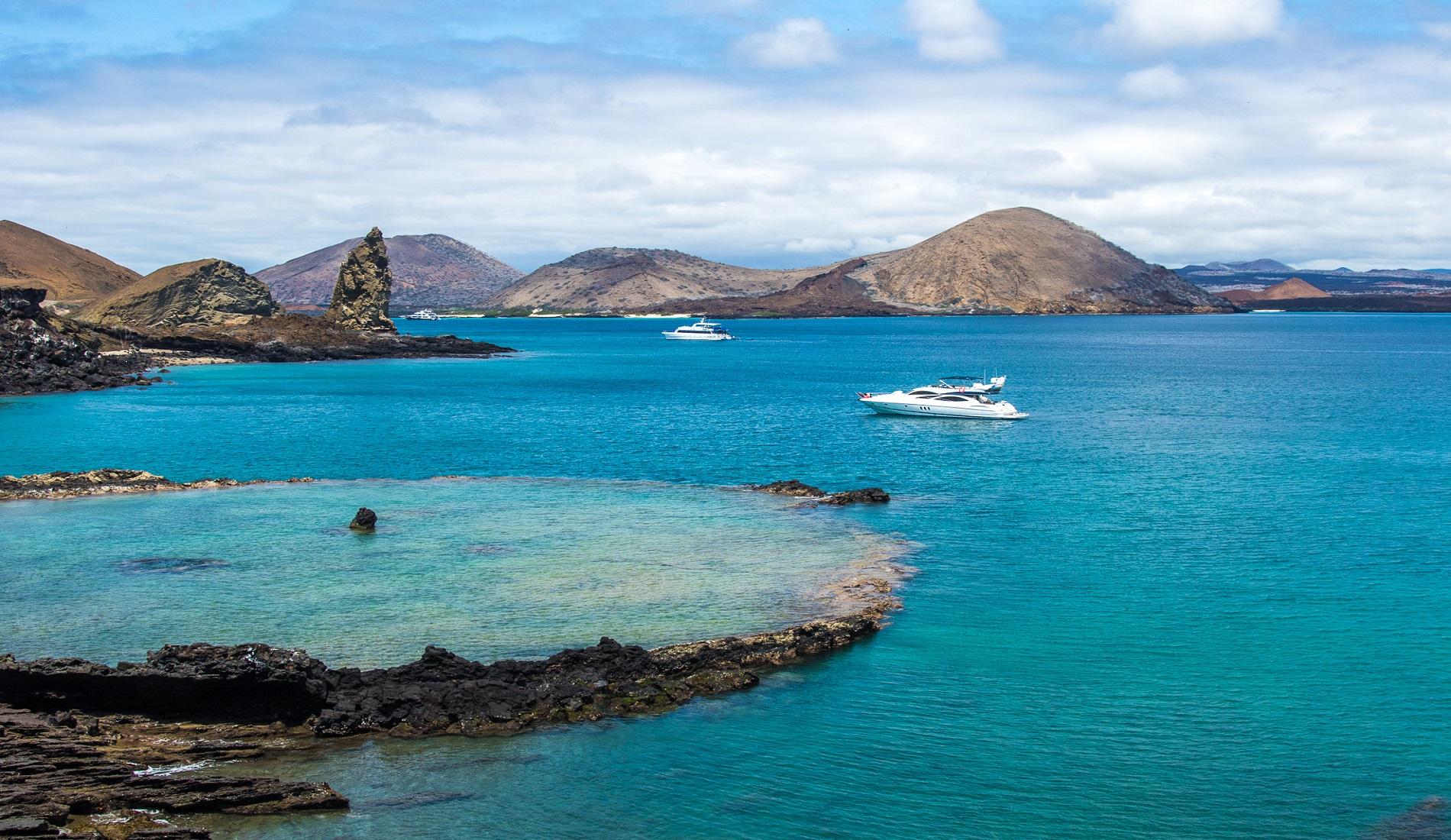 Luxe reis Ecuador Bartolome & Sullivan Bay