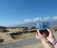 Uitzicht op Monte Alban