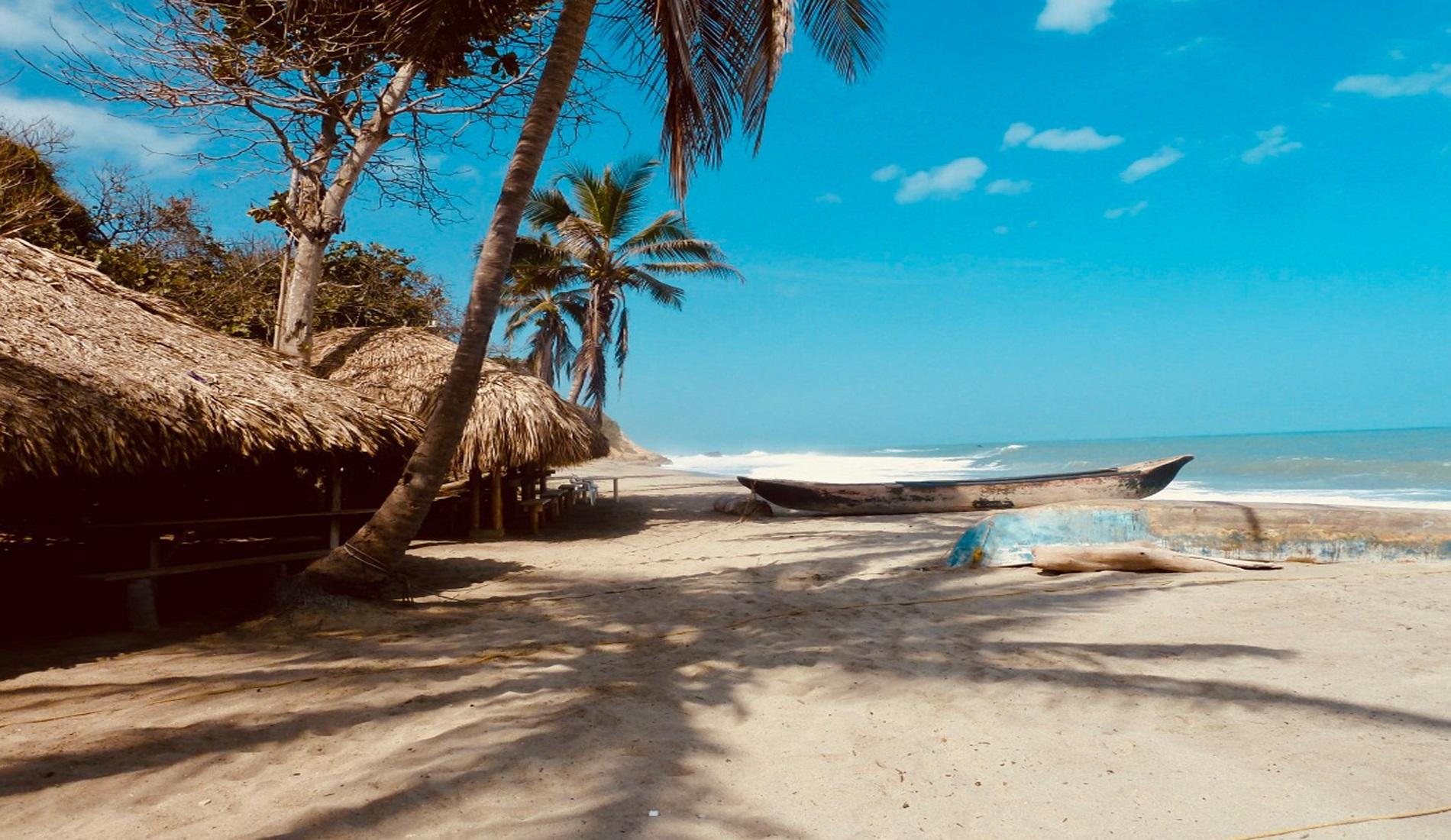 Nationaal Park Tayrona strand