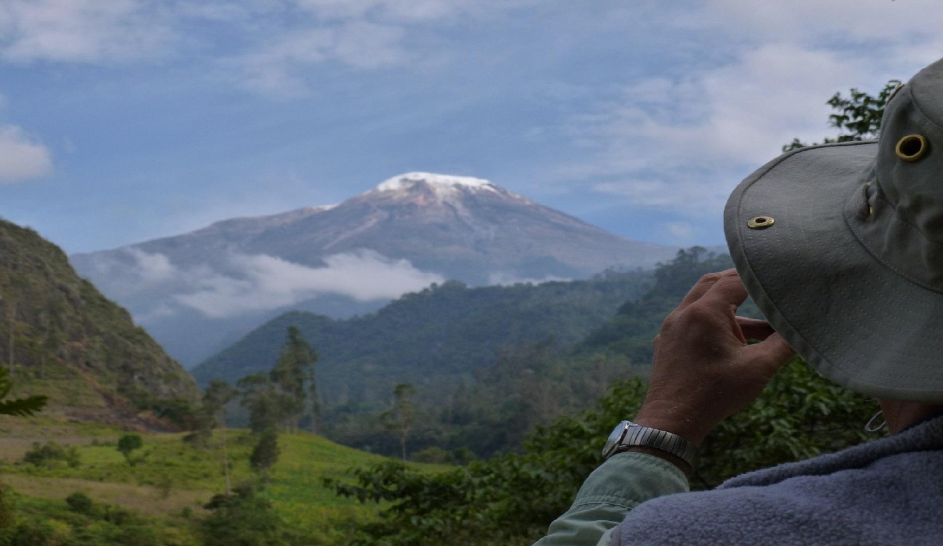 Nevado del Tolima vogelreis colombia