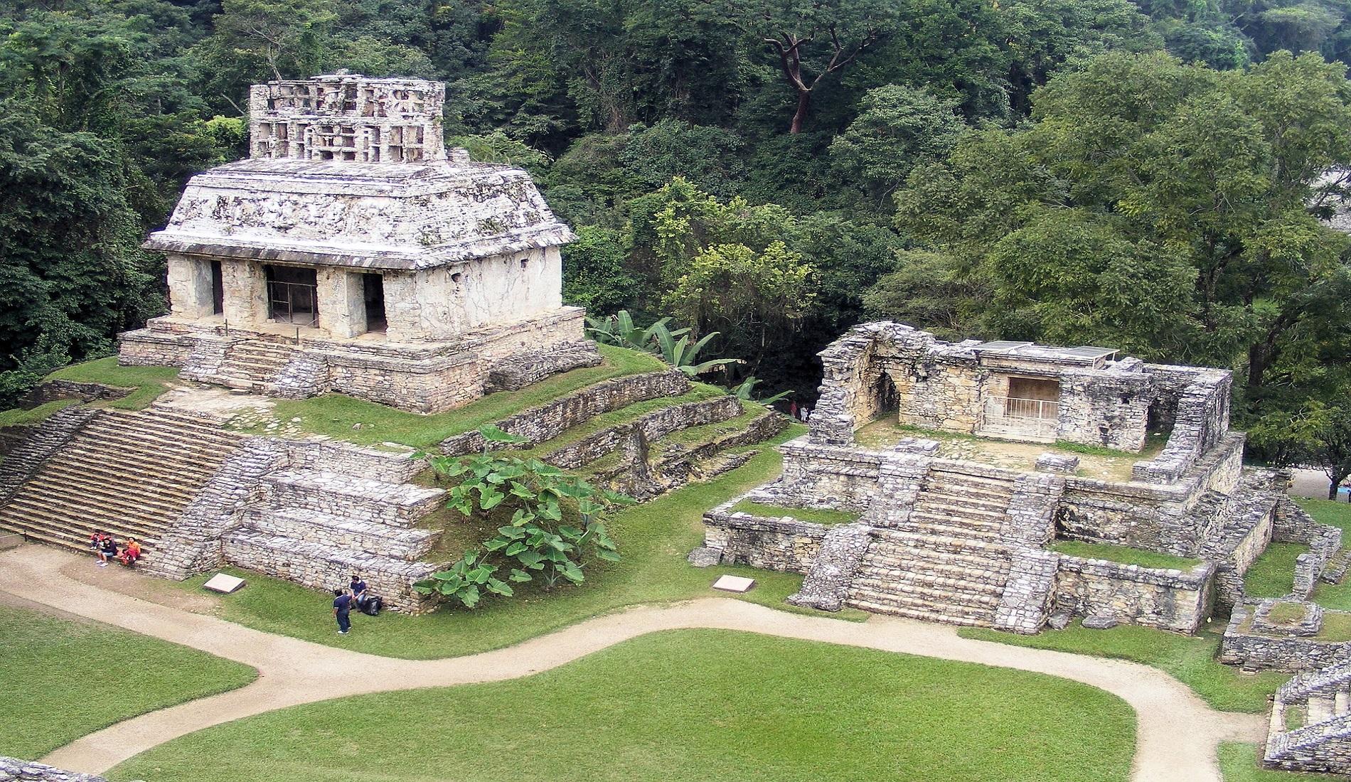 Palenque rondreis mexico