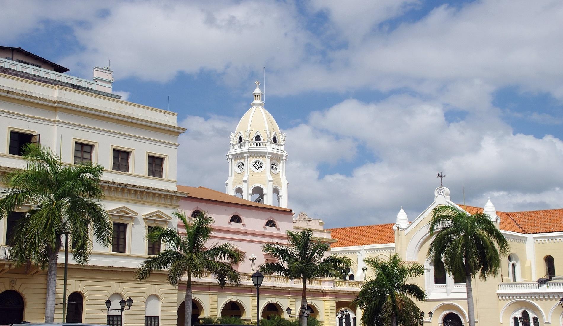 Panama-Stad casco viejo