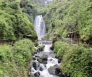 Peguche waterval Otavalo