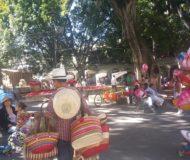 Plein Zocalo Oaxaca de Juarez