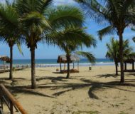 Puerto Lopez strand Ecuador