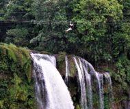Pulhapanzak Waterfalls (zipline)